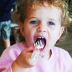 baby-girl-eating