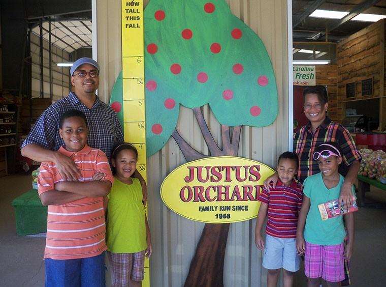 Family Fun at Justus Orchard